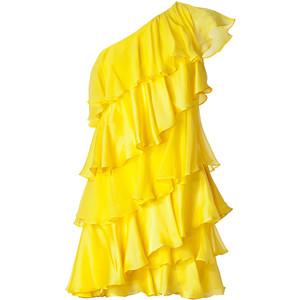 Trendsfor 2014 Neon Yellow Cocktail Dresses #2: neonyellowcocktaildress006