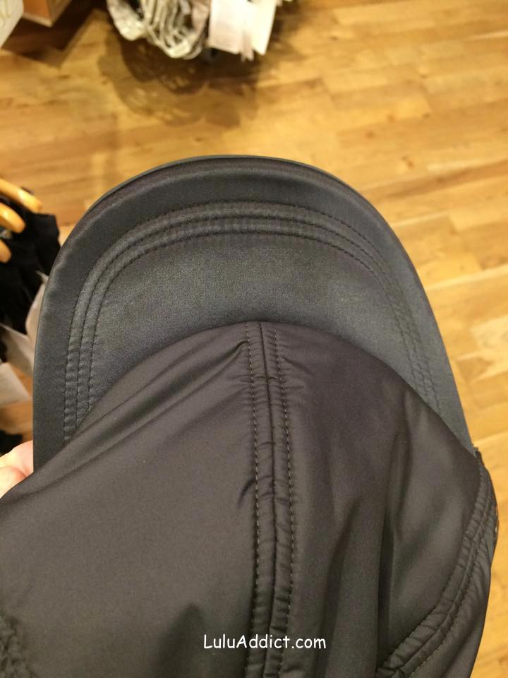 lululemon fluffed up run hat black
