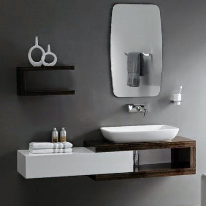 modern bathroom vanities design layout