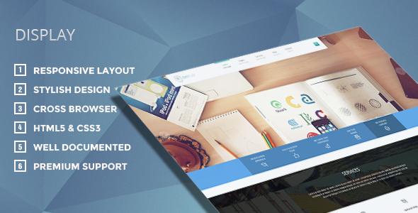Display v2.0 – Themeforest Responsive WordPress Theme