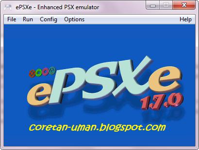Tampilan epsxe 1.7.0