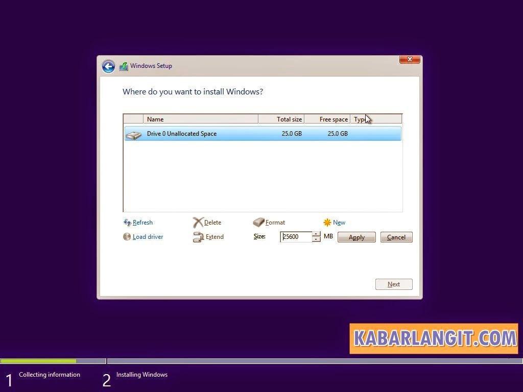 Install Windows 10 6