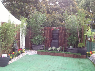 Bamboo Creations victoria at Melbourne Internation Flower Show