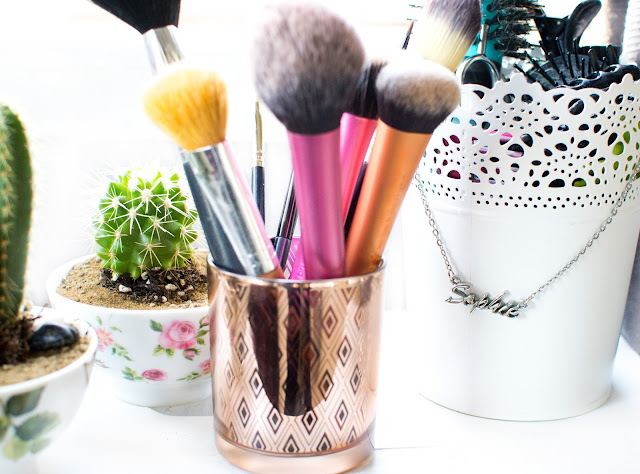 Ikea home decor ideas makeup brush holder