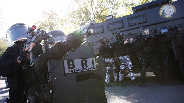 Les Forces d'intervention de police et militaire françaises