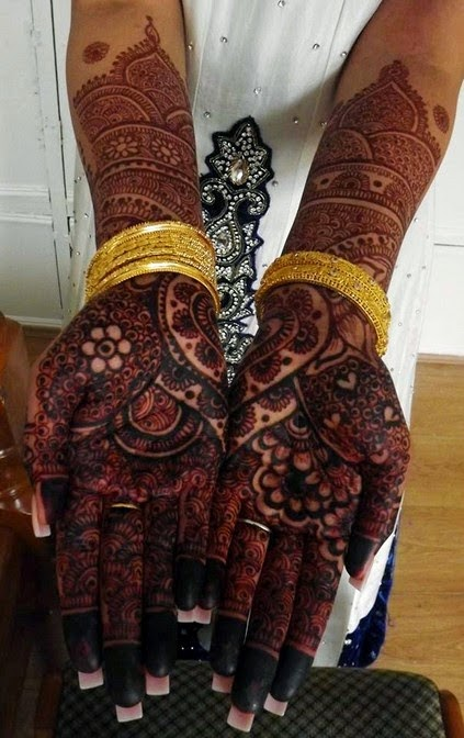 Best Bridal Mehndi Designs Collection