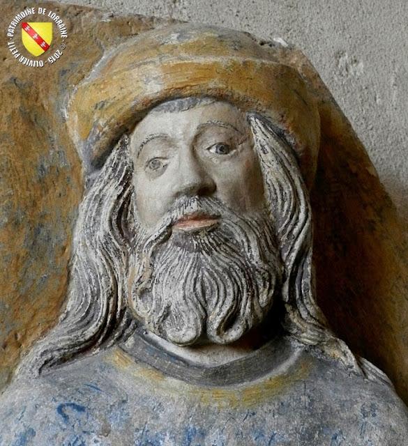 BULGNEVILLE (88) - Haut-relief : La légende des trois Maries (XVIe siècle)