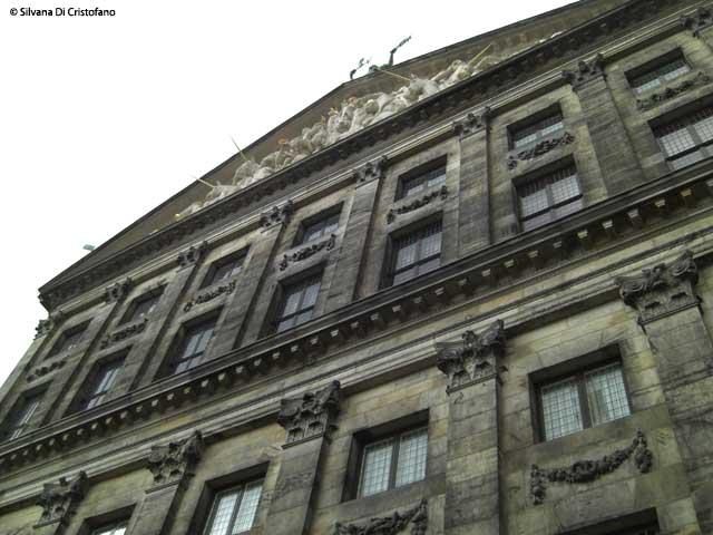 Il palazzo reale ad Amsterdam