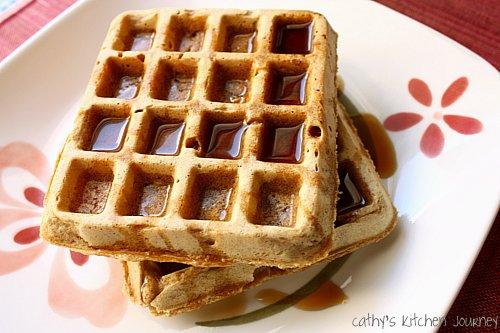 cathy's kitchen journey: Vegan Multigrain Waffles