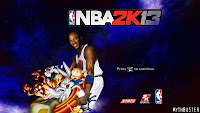 NBA 2K13 Space Jam Startup Screen Mod