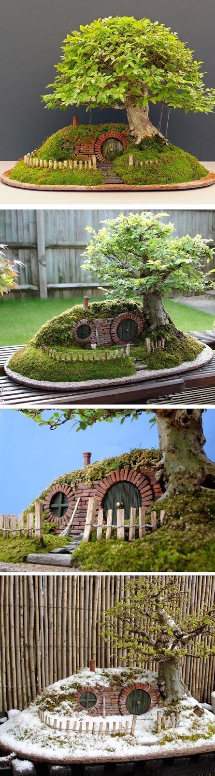 mini jardim ou mini jardim:Ambiente Bariri: Mini Jardim ou Fairy Garden