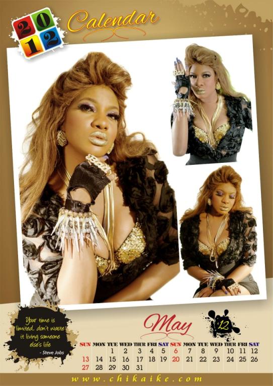 Too Late?? Actress Chika Ike Unveils 2012 Calendar. 6