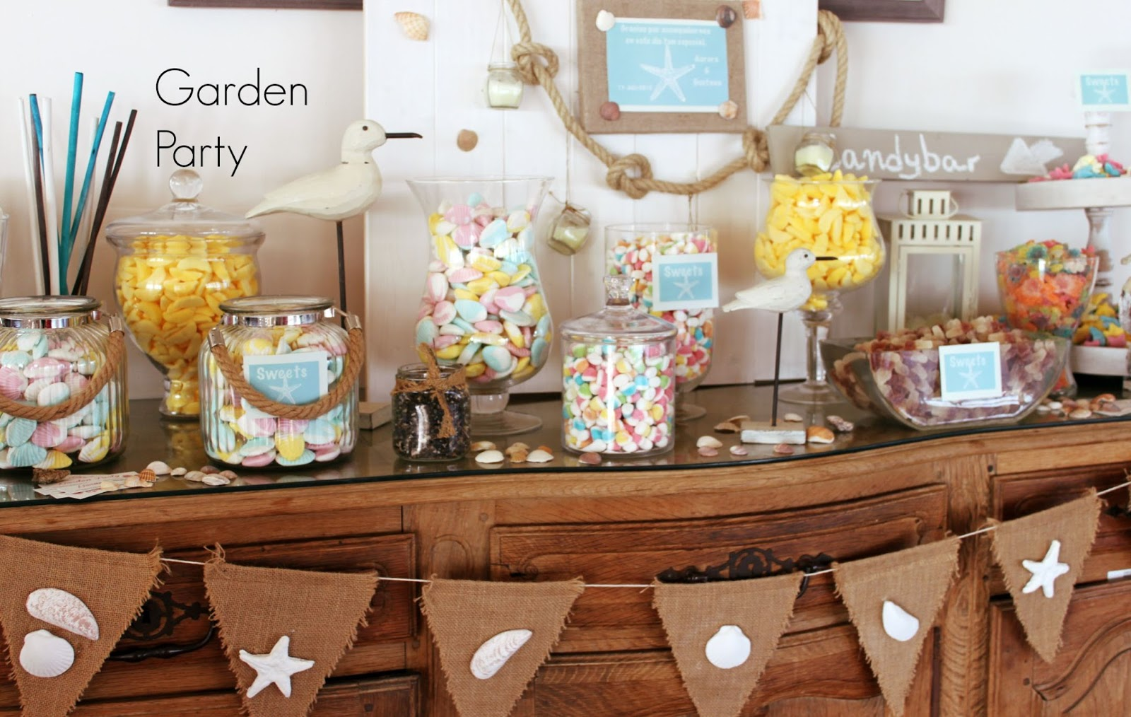 Garden party mesas dulces m laga - Decoracion malaga ...