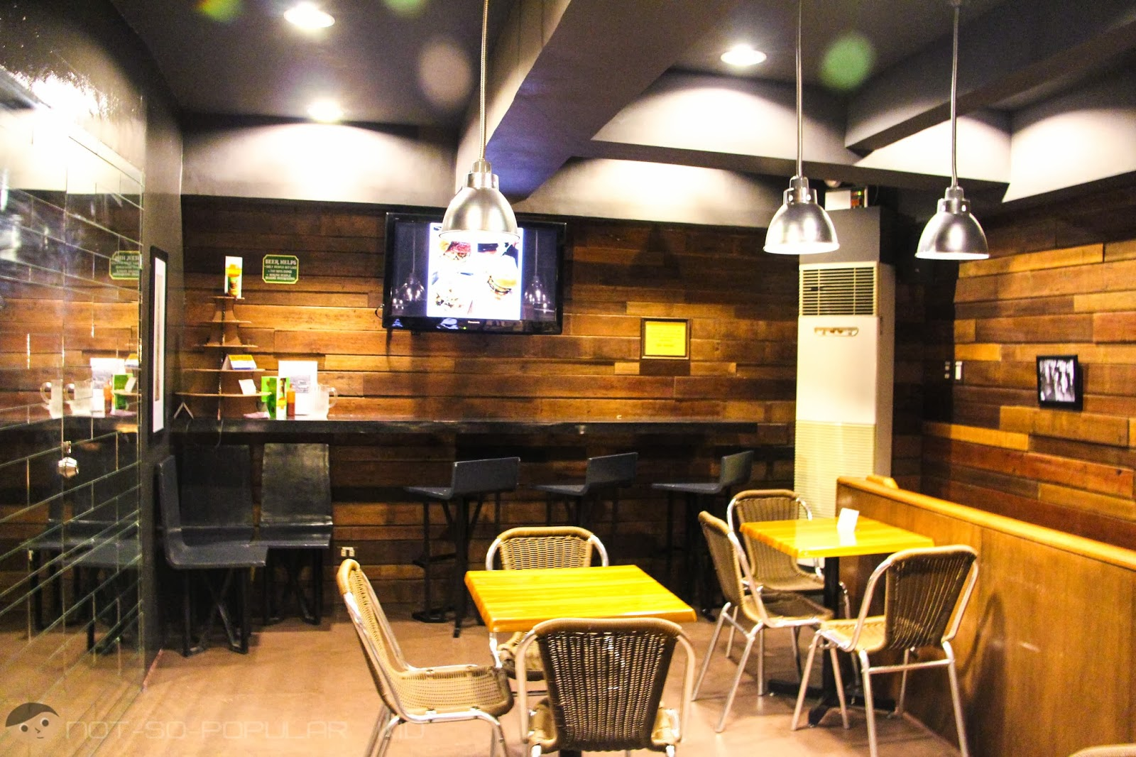 2nd Floor Interior of the Burgers and Brewskies in Burgos Circle