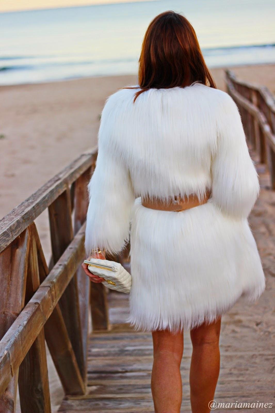 Abrigo pelo - Elisabetta Franchi - Christmas Look - Trendy Guardamar