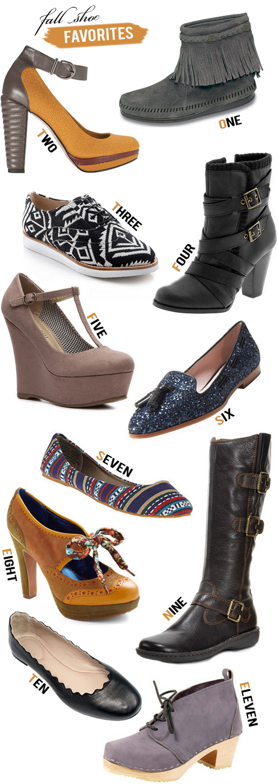 Fall 2012 Shoes