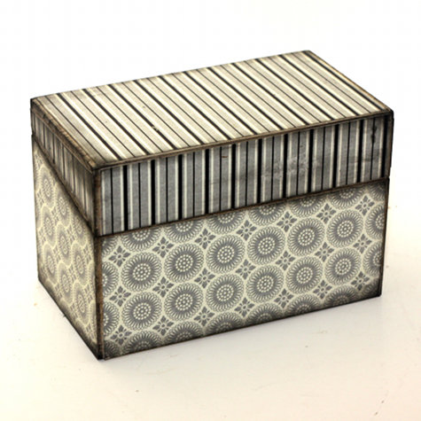Handmade Wooden Recipe Box