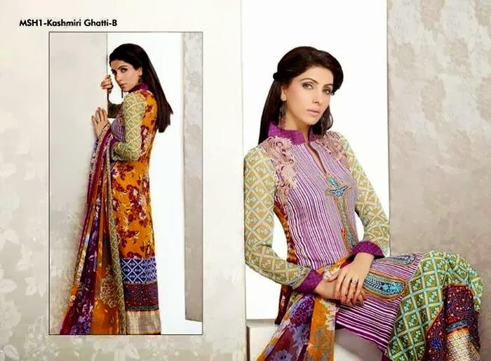 Kashmiri Ghotti Lawn Dresses By Lala
