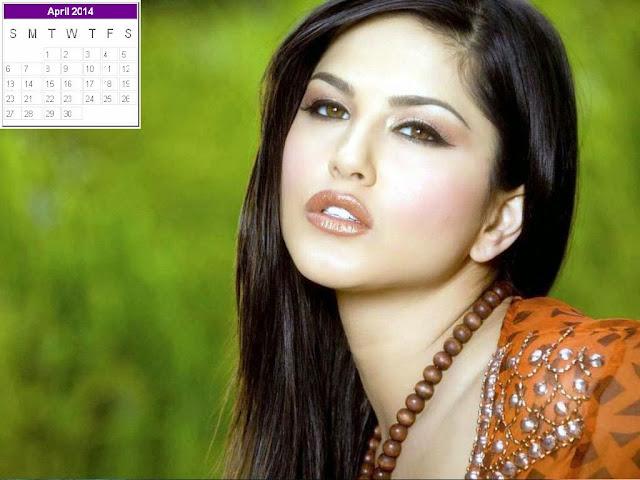 Sunny Leone Calendar 2014