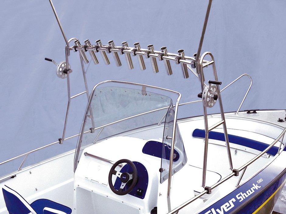 троллинг с лодки обучение