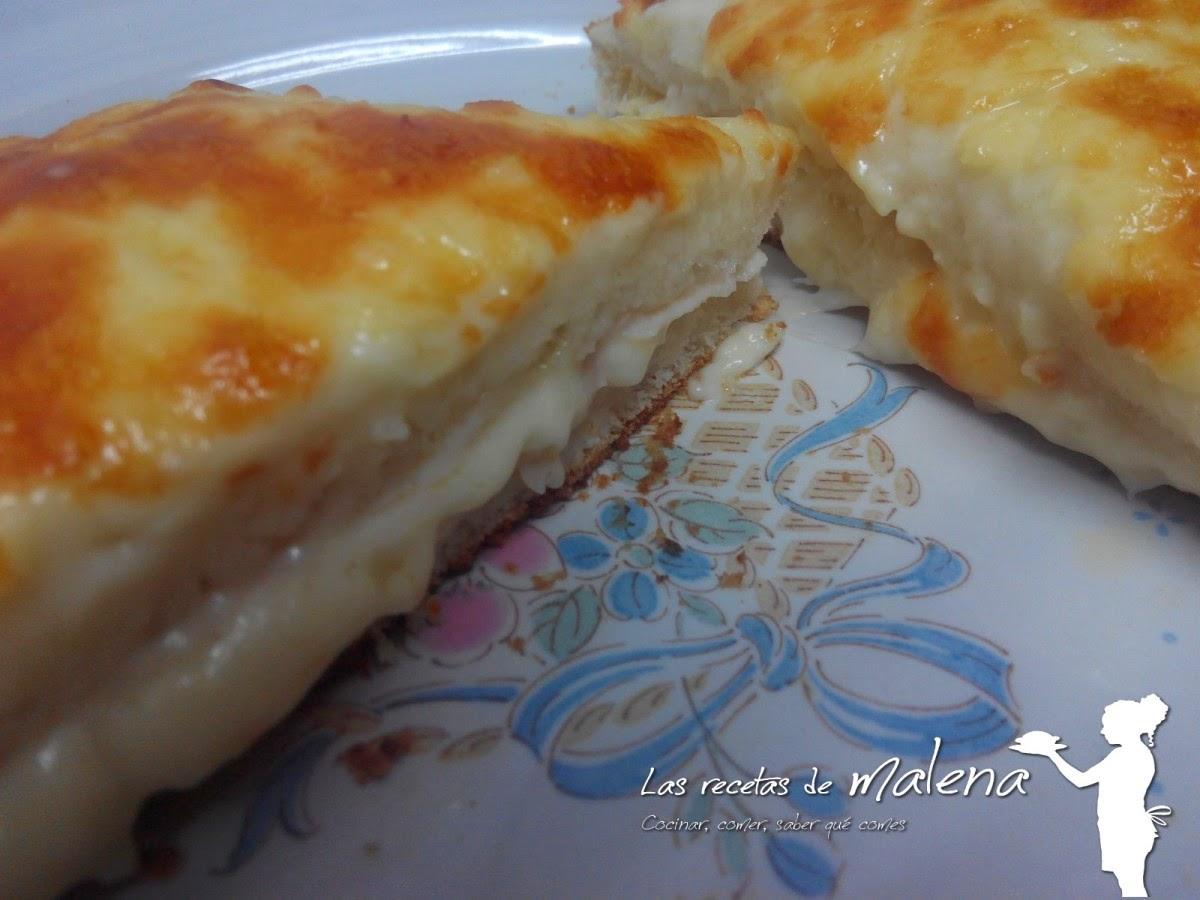 sandwich francés croque-monsieur