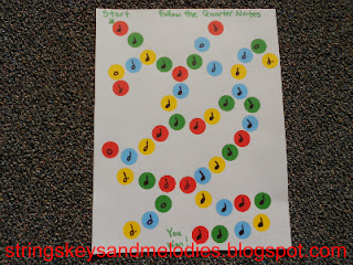 musical notes, musical note games, quarter notes, half notes, dotted half notes, whole notes, treasure maps