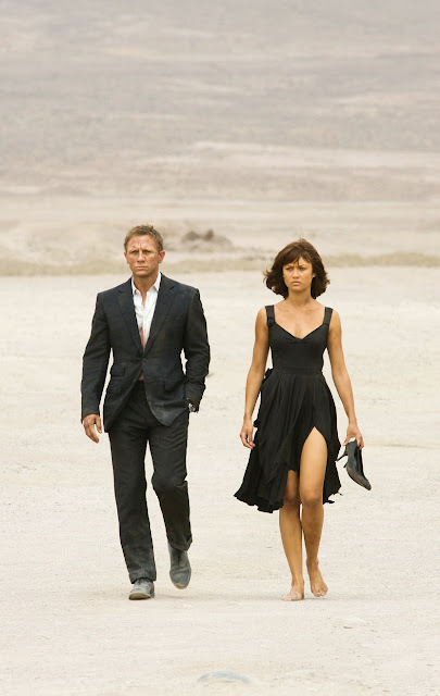 the quantum of solace, james bond,cool movies