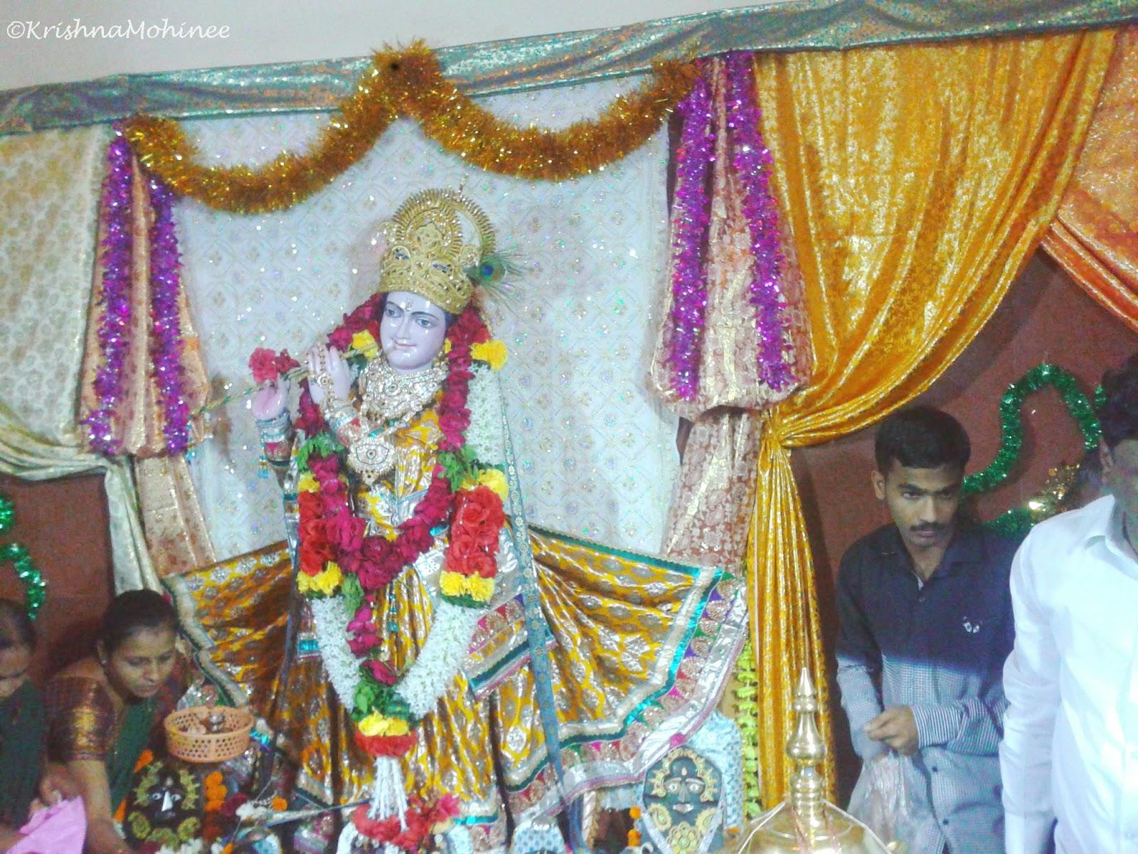 Lord Krishna Image from Mahanubhav Temple Dhule