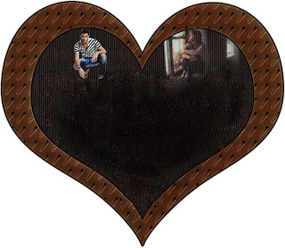most beautiful and wanted heart frame for urdu poetry - Most Wanted Picture Frame