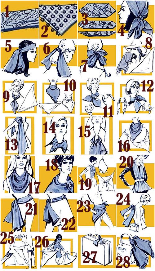fidgety fingers the many ways to wear a scarf