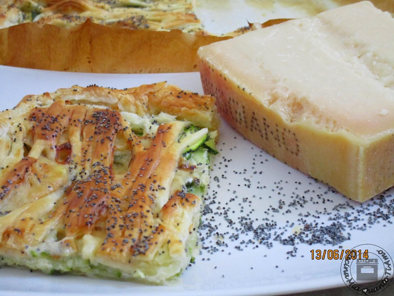 sfoglia zucchine e parmigiano
