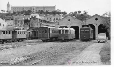 deposito tren carrilet delta ebro carrilet tortosa desembocadura rio ebro