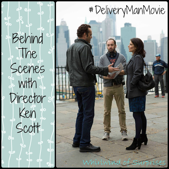 #DeliveryManMovie Set Visit, director Ken Scott, Vince Vaughn, Cobie Smulders