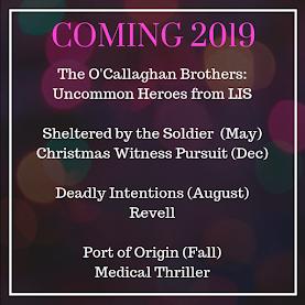 Romantic Suspense Coming 2019
