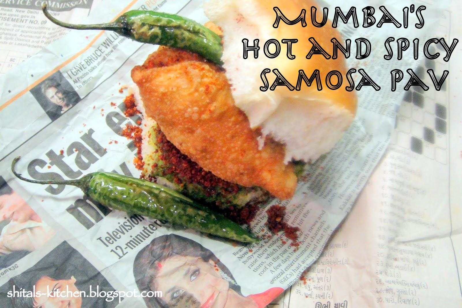 Shital's-Kitchen: Samosa Pav