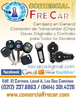 COMERCIAL FRE-CAR, C.A. en Paginas Amarillas tu guia Comercial