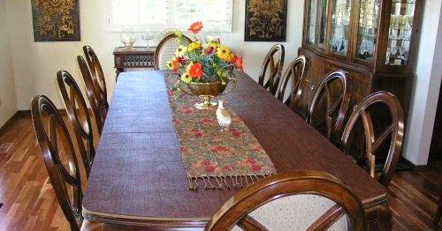installing custom dining room table pads ayanahouse