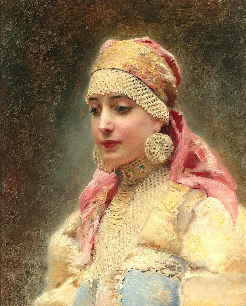 Ophelia S Adornments Blog May 2012: Painting Is Silent Poetry.: Konstantin Makovsky