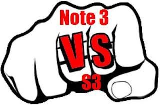 Samsung Galaxy Note 3 vs. Samsung Galaxy S3