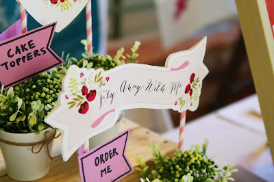 wedding stationery cake toppers
