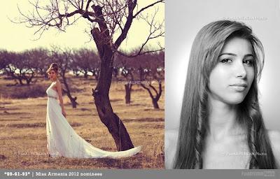 Miss Armenia Hayastan Միսս Հայաստան 2012 Anush Sahakyan