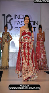Bhumika Chawla at India Fashion Week