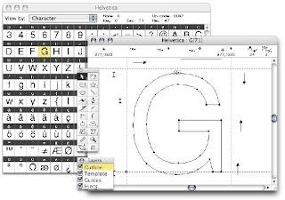 Font Designer: Fontographer