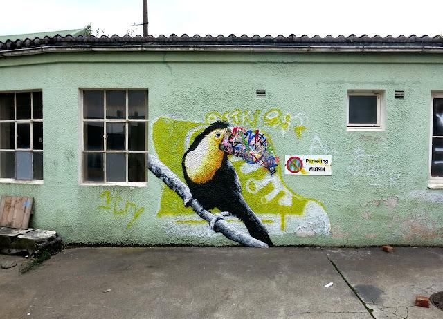 Stencil Street Art Murals By Martin Whatson In Stavanger Norway For Nuart Urban Art Festival.