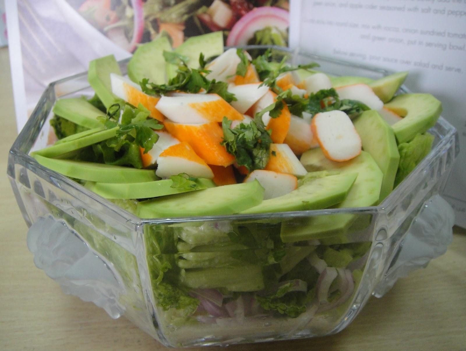 how to make surimi salad