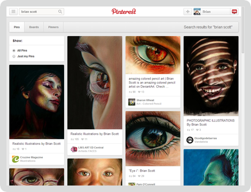 Pinterest Screen 2