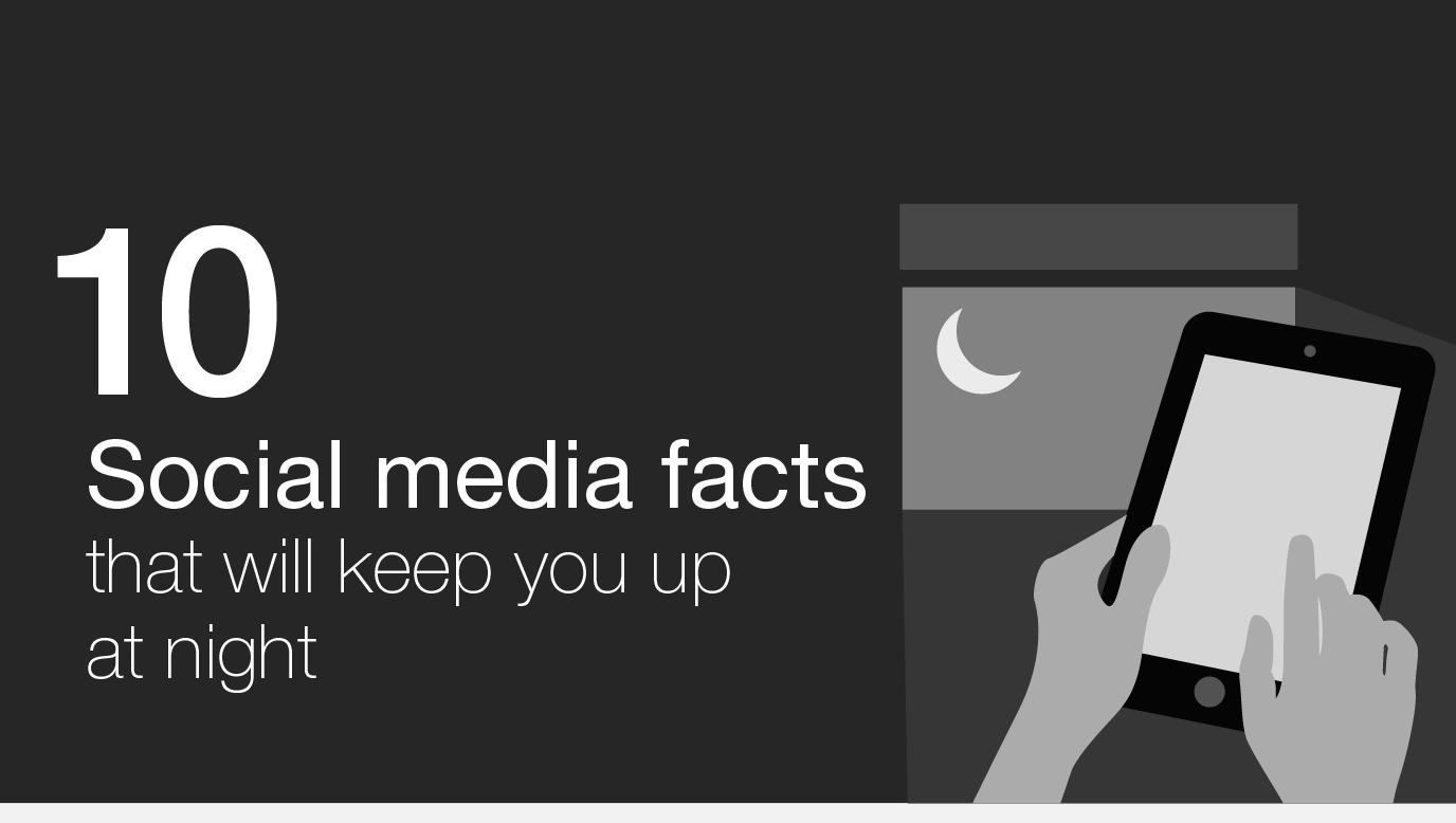 10 Social Media Marketing Stats That Will Keep You Up At Night - #infographic