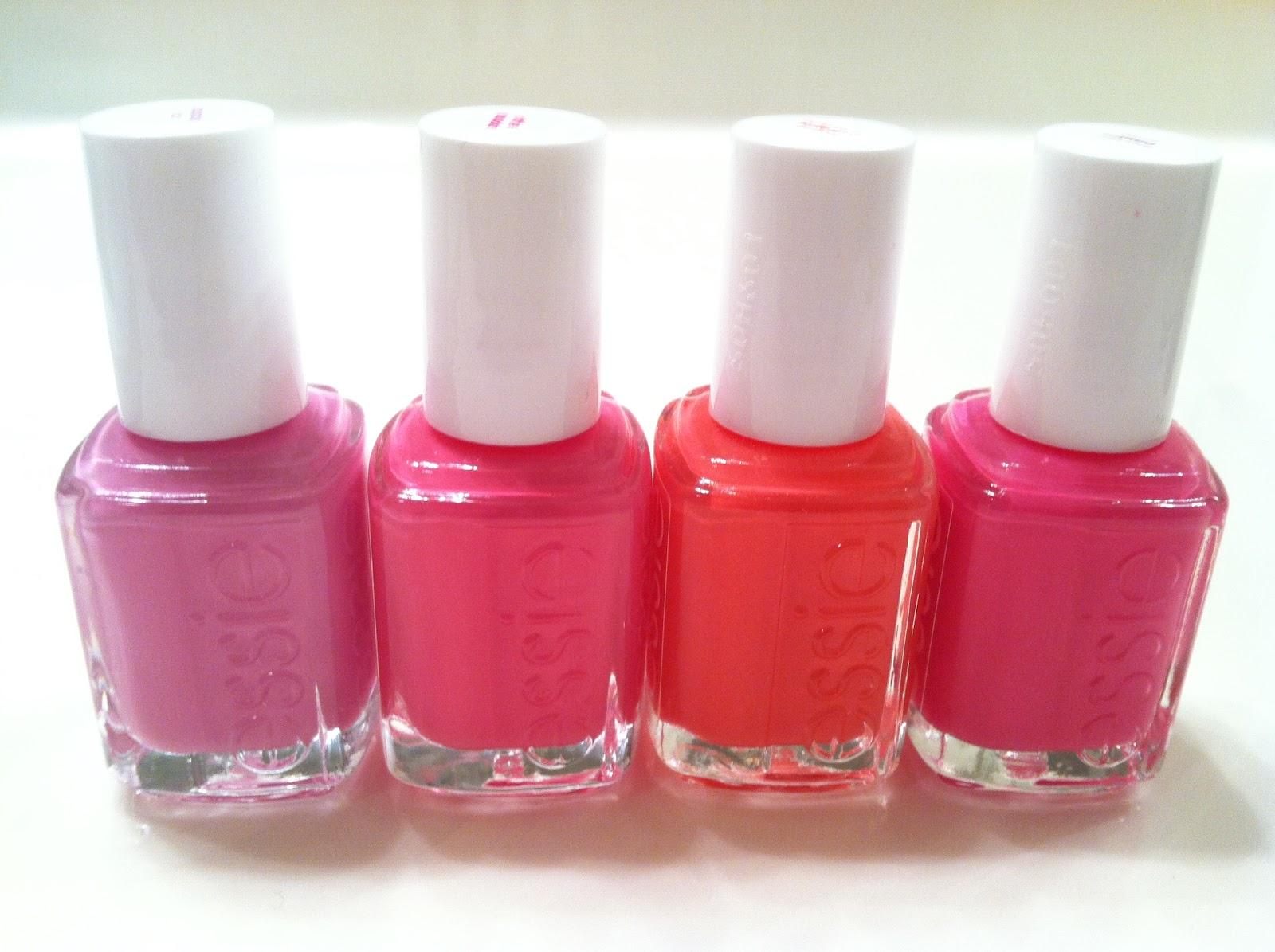 A Little Beauty Luxury: Top 4 Essie Pink Polish Picks