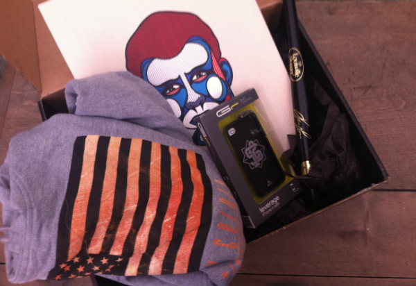 12 Society Box Four - October 2012 Review and Unboxing - Monthly Men's Subscription Boxes