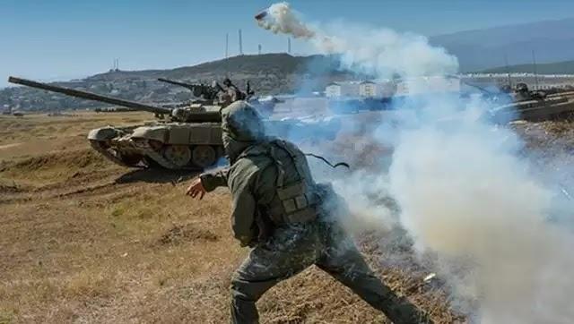 Ρωσία: Μεγάλη στρατιωτική άσκηση αερομεταφερόμενων δυνάμεων στην Κριμαία